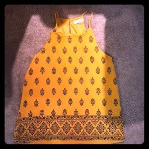 Tops - Mustard yellow  top
